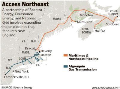 pipeline map