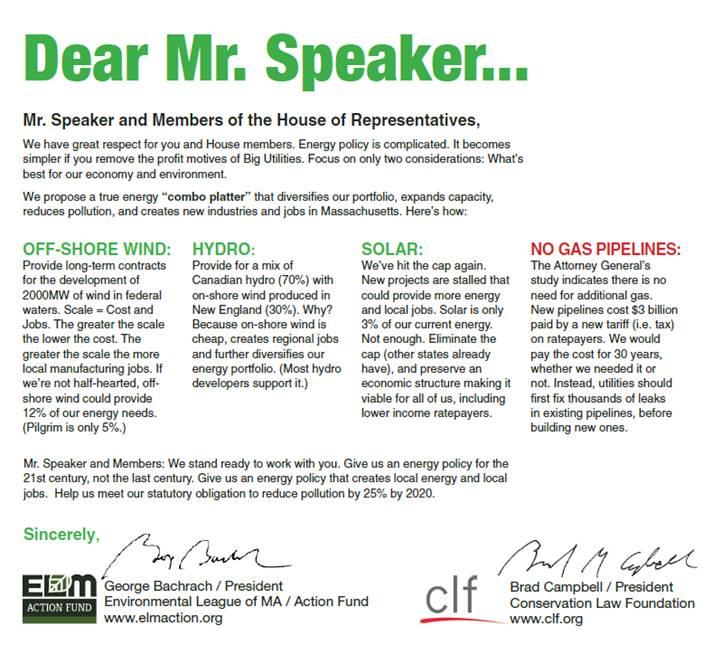 Dear Mr. Speaker