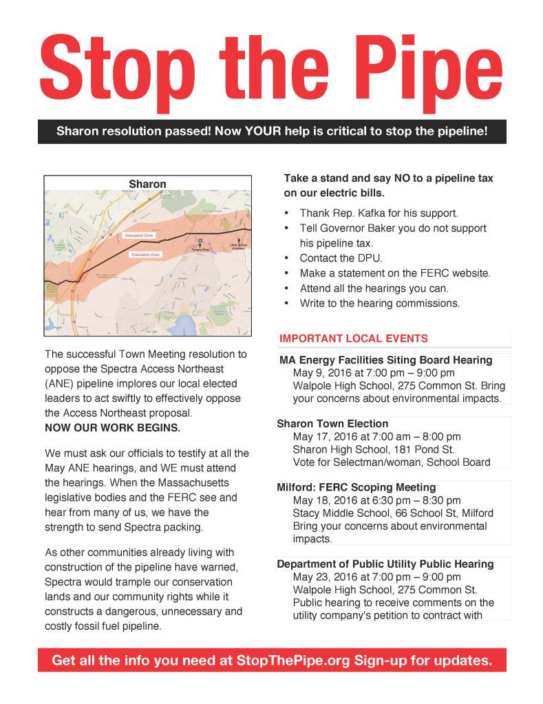Stop the Pipe 5-7-16